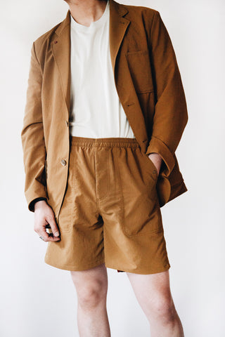 nanamica Easy Shorts - Ocher