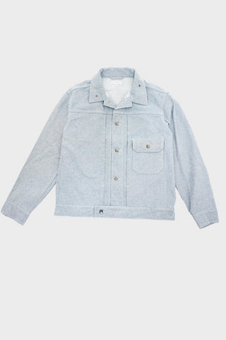engineered garments Trucker Jacket - Blue Upcycled Denim