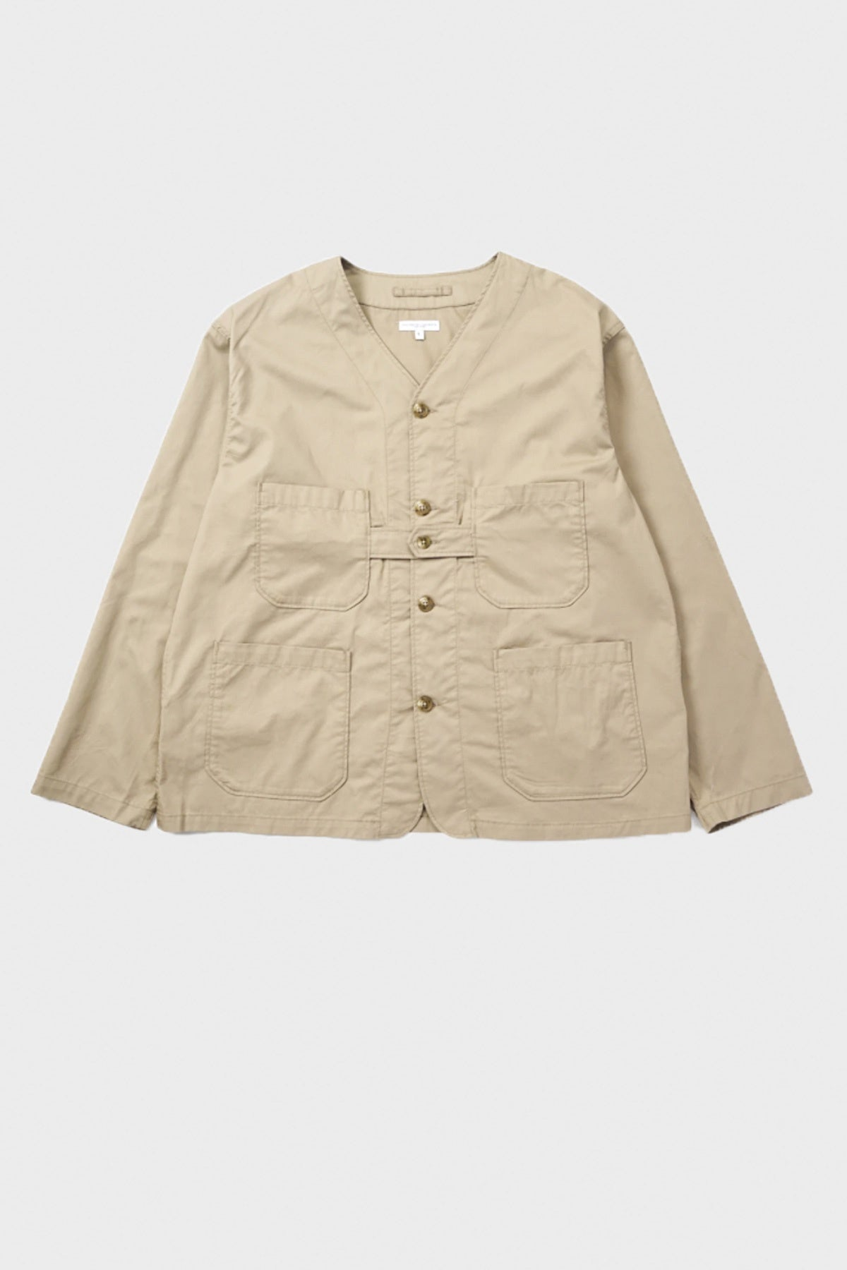 Engineered Garments - Cardigan Jacket - Khaki Twill - Canoe Club