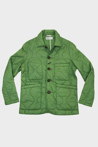 Bakers Jacket - Olive Quilted Nylon