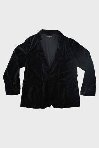 engineered garments SD Jacket - Black Cotton Velveteen
