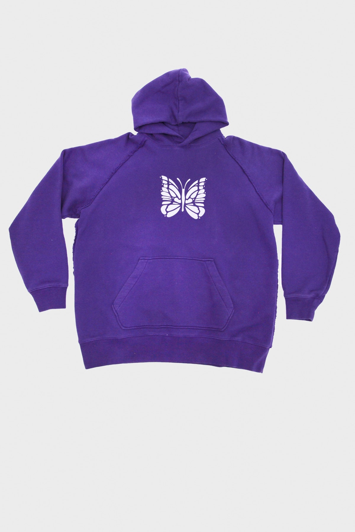 Needles - Sweat Hoody - Purple - Canoe Club