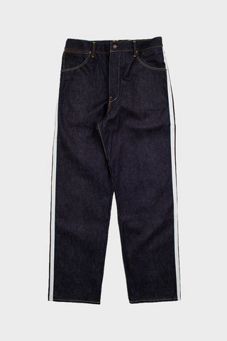 visvim indigo camping trading post find your happiness I.C.T. SS Hakama Pants - Unwashed