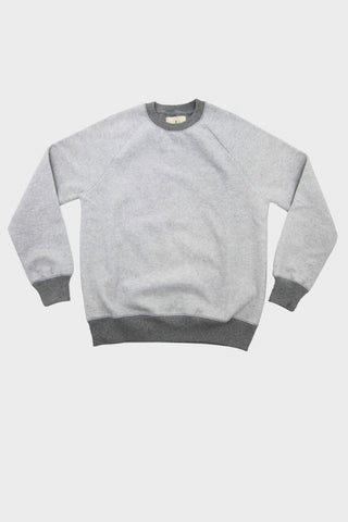 Cunha Upcycled Cotton Sweatshirt - Soft Grey