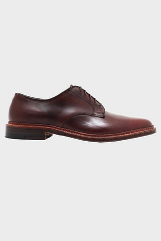 alden shoes Blucher - Oil Leather Sole - Brown Chromexel
