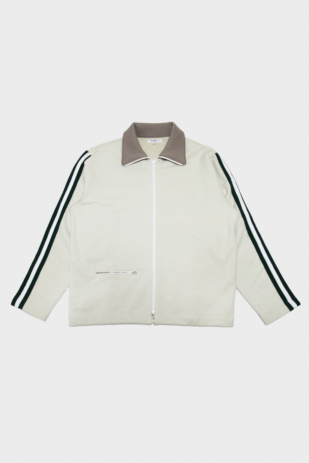 Lady White Co. - Webbing Track Jacket - Bone - Canoe Club