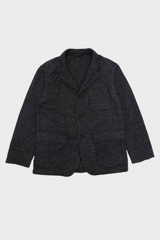 engineered garments Loiter Jacket - Grey Wool Blend Homespun