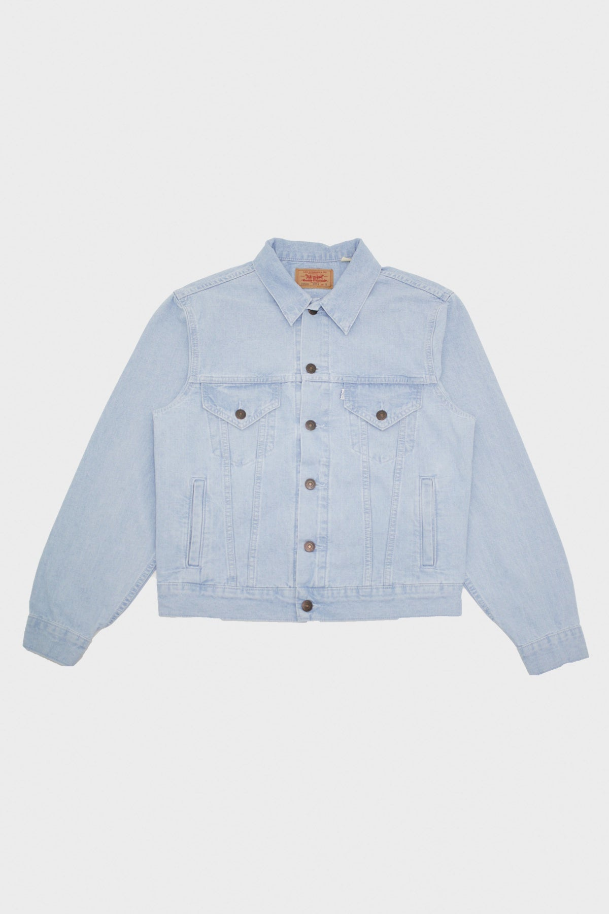 Levi's Vintage Clothing - 80s 4 Pocket Trucker - Dust Blue - Canoe Club