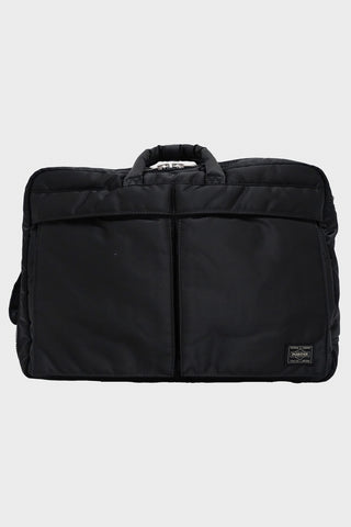 porter yoshida and co 3 Way Brief Case - Black