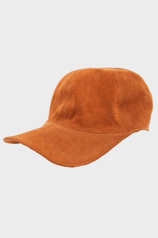 lady white co. Suede Cap - Rust