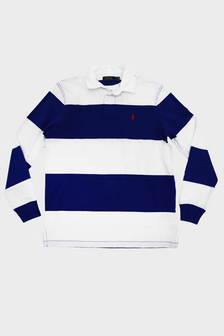 Long Sleeve Rugby - Sapphire Star/Classic