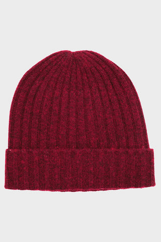 hartford Beanie - Dark Red