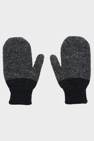 howlin Psych Mittens - Charcoal