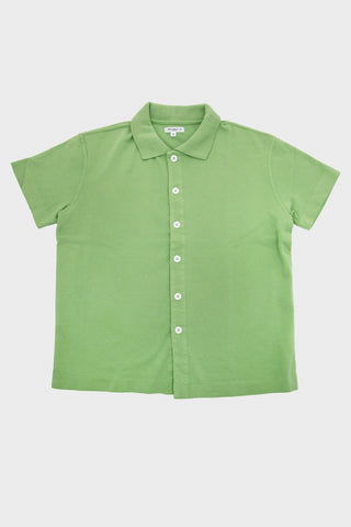lady white co Placket Polo - Jade