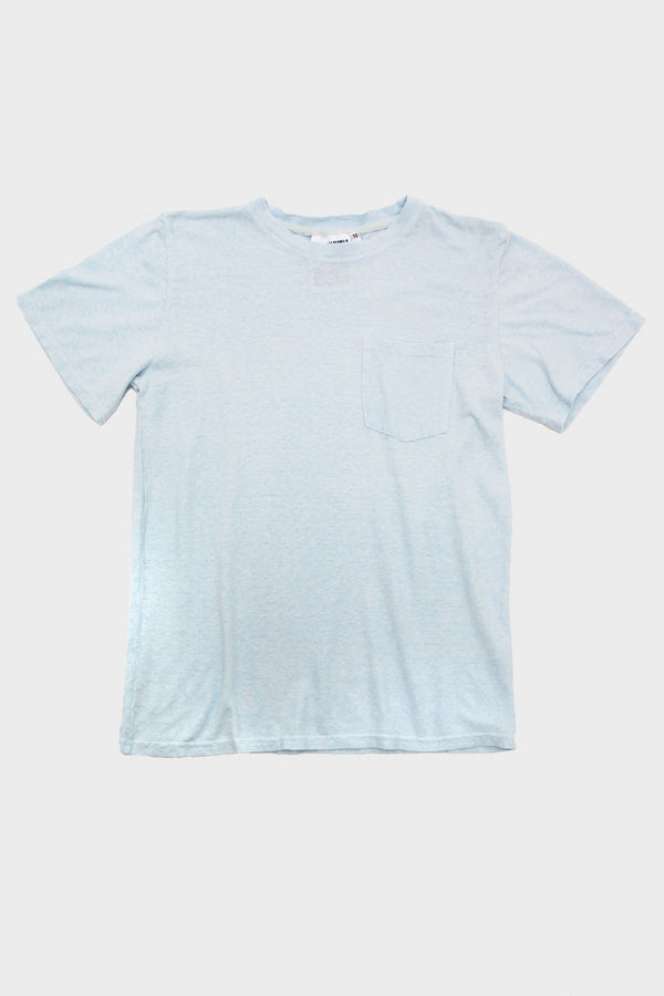 Baja Pocket Tee - Sky Blue