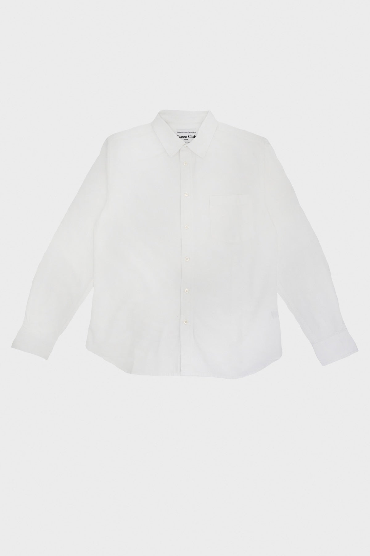 corridor clothing nyc Canoe Club Oxford shirt - White