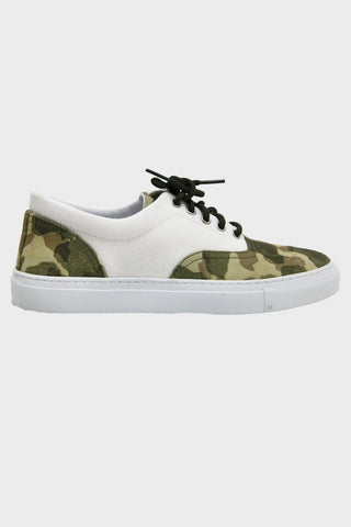 Iseo - Green Camo Suede/Canvas