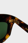 Politician Sunglasses - Calico Tortoise