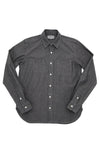 Long Sleeve Service Shirt - Charcoal