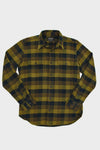 Vintage Flannel Work Shirt - Brown/Navy