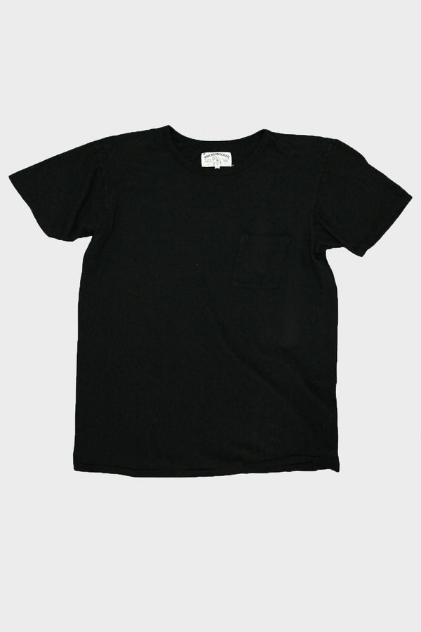 Tube Knit Tee - Black