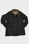 Black Belstaff Trialmaster Pro Checkered Flag Jacket