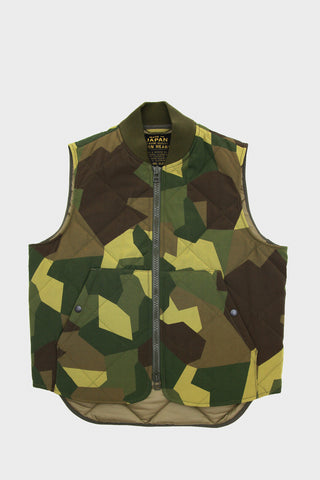 Original Camouflage Quilted Vest
