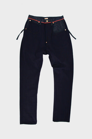 Light Canvas RINGOMAN Cargo Pants - Indigo