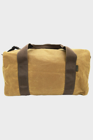 Small Field Duffle - Dark Brown Tan