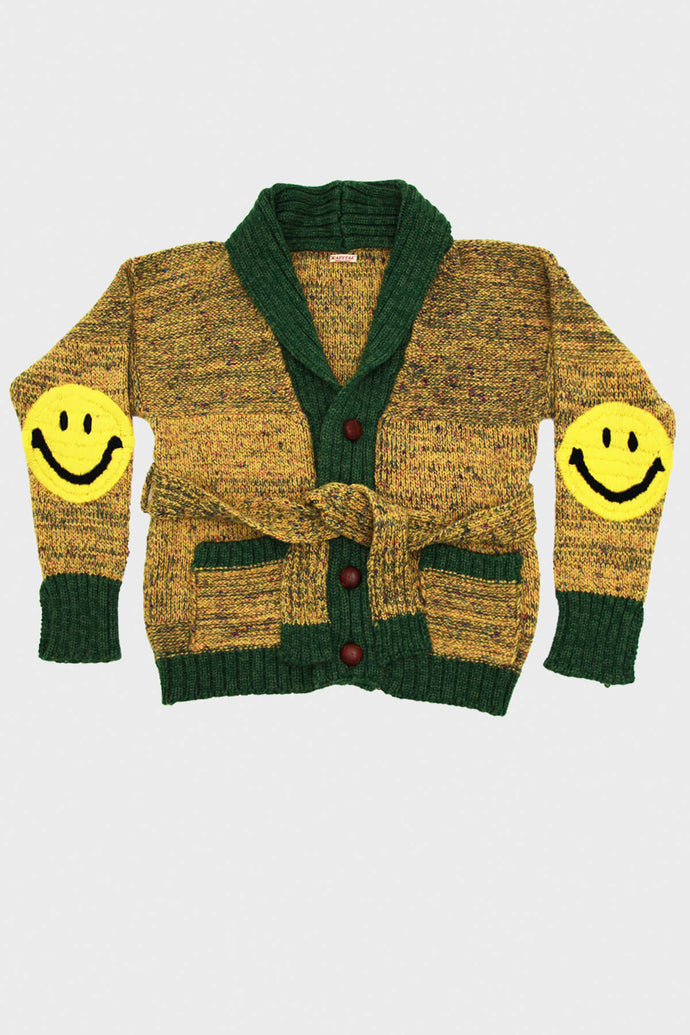 KOUNTRY - Wool Napped Grandrelle Knit GOGH Cardigan