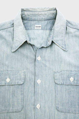 Selvedge Chambray Work Shirt