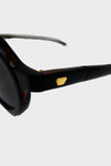 Diplomat Sunglasses - Dark Brown Sasa