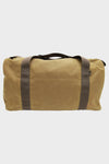 Medium Field Duffle - Dark Tan Brown