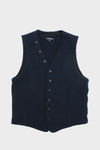 Knit Vest - Dark Navy