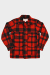 Mackinaw Wool Cruiser - Red/Black Plaid