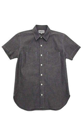 Short Sleeve Service Shirt - Charcoal