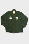 Nylon 66 Bomber Jacket - Bear Emblem