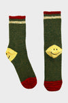 72 Yarn Wool IVY SMILE Socks - Green