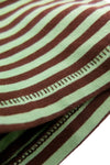 1960's Casual Stripe - Chocolate Mint