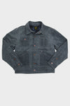Sanitas Jacket - Cement Waxed/Blue Plaid