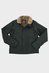 Alpaca Lined N-1 Deck Jacket - Black