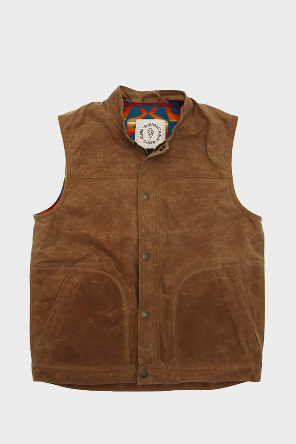 Wax Canvas Vest