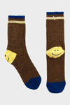 72 Yarn Wool IVY SMILE Socks - Brown