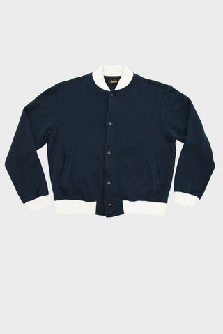 Pile Stadium Jacket - Non Twist Pile - Navy