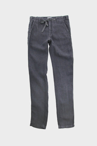 Troy Linen Pants - Thunder