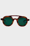 Polaris Sunglasses - Light Brown Sasa
