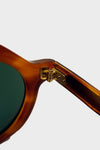 Diplomat Sunglasses - Light Brown Sasa