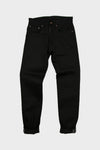 Spikes X026 - Black 13 oz Japanese Red Line Selvedge,