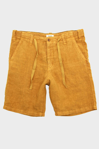 Linen Shorts - Curry