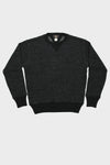 Cotton Wool Crewneck Sweatshirt - Black Heather